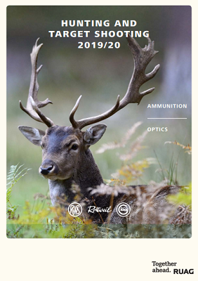 Cover: RUAG Catalogue Hunting and Targetshooting 2019/20